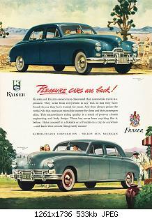 Нажмите на изображение для увеличения Название: 1948 Kaiser-Frazer Ad-02.jpg Просмотров: 1 Размер:532.5 Кб ID:1039684