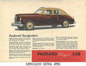 Нажмите на изображение для увеличения Название: 1946 Packard Clipper Cab-05.jpg Просмотров: 2 Размер:186.6 Кб ID:1028486