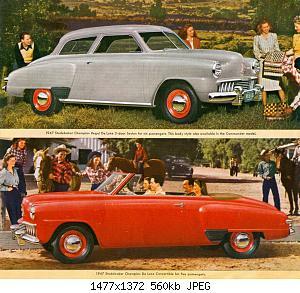 Нажмите на изображение для увеличения Название: 1947 Studebaker  7 .jpg Просмотров: 1 Размер:560.5 Кб ID:1023805