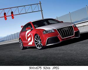 Нажмите на изображение для увеличения Название: 2008 Audi A3 TDI Clubsport Quattro Concept 001.jpg Просмотров: 1 Размер:92.0 Кб ID:1151980