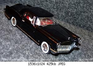 Franklin Mint Lincoln Continental 1956 6.jpg