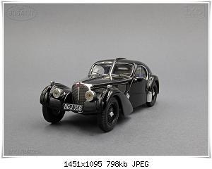 Нажмите на изображение для увеличения Название: Bugatti 57S Coupe Atlantic (1) Ixo.JPG Просмотров: 7 Размер:798.3 Кб ID:1214174