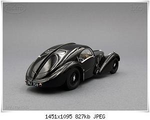 Нажмите на изображение для увеличения Название: Bugatti 57S Coupe Atlantic (2) Ixo.JPG Просмотров: 5 Размер:826.6 Кб ID:1214175