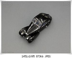 Нажмите на изображение для увеличения Название: Bugatti 57S Coupe Atlantic (4) Ixo.JPG Просмотров: 1 Размер:872.6 Кб ID:1214177