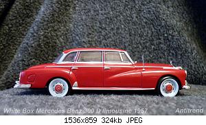 White Box Mercedes Benz 300 D limousine 1957 1.jpg
