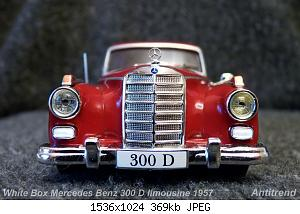 White Box Mercedes Benz 300 D limousine 1957 3.jpg