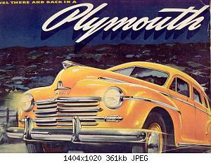 Нажмите на изображение для увеличения Название: 1946 Plymouth-01.jpg Просмотров: 3 Размер:360.8 Кб ID:1005860
