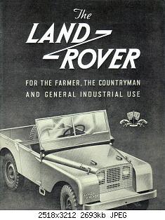 Нажмите на изображение для увеличения Название: Land Rover 1948 Reproduction 01.jpg Просмотров: 0 Размер:2.63 Мб ID:1162930