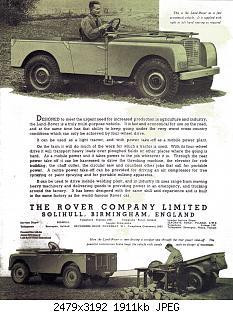 Нажмите на изображение для увеличения Название: Land Rover 1948 Reproduction 02.jpg Просмотров: 0 Размер:1.87 Мб ID:1162931