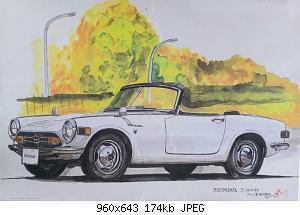 Нажмите на изображение для увеличения Название: Honda S800M (1966-1970).jpg Просмотров: 1 Размер:173.7 Кб ID:1168864
