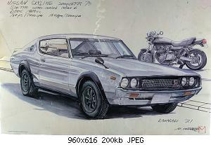 Нажмите на изображение для увеличения Название: Nissan Skyline 2000 GT-R C110 (1972-1973).jpg Просмотров: 1 Размер:199.9 Кб ID:1168868