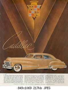 Нажмите на изображение для увеличения Название: 1947 Cadillac Ad-01.jpg Просмотров: 5 Размер:217.0 Кб ID:1019098