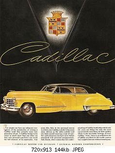 Нажмите на изображение для увеличения Название: 1947 Cadillac Ad-04.jpg Просмотров: 1 Размер:144.2 Кб ID:1019101