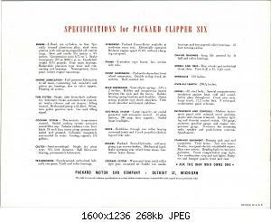 Нажмите на изображение для увеличения Название: 1946 Packard Clipper Six-06.jpg Просмотров: 0 Размер:267.6 Кб ID:1012822