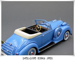 Нажмите на изображение для увеличения Название: Packard 12 Victoria (7) Ixo.JPG Просмотров: 2 Размер:839.3 Кб ID:1179843