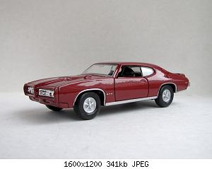 Pontiac GTO 1969 (Welly) 20200829-1.jpg