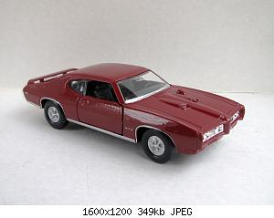 Pontiac GTO 1969 (Welly) 20200829-3.jpg
