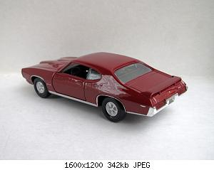 Pontiac GTO 1969 (Welly) 20200829-4.jpg