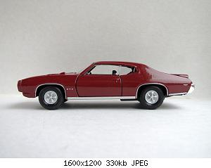 Pontiac GTO 1969 (Welly) 20200829-5.jpg