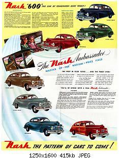 Нажмите на изображение для увеличения Название: 1946 Nash Foldout-02.jpg Просмотров: 12 Размер:415.2 Кб ID:1009180