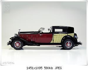 Нажмите на изображение для увеличения Название: Rolls Royce Phantom II (3) DG.JPG Просмотров: 2 Размер:579.7 Кб ID:1159374