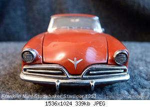 Franklin Mint Studebaker Starliner 1953 4.jpg
