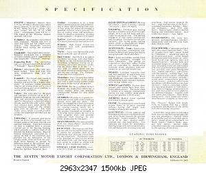 Нажмите на изображение для увеличения Название: 1947-48 Austin A110 04.jpg Просмотров: 0 Размер:1.46 Мб ID:1104408