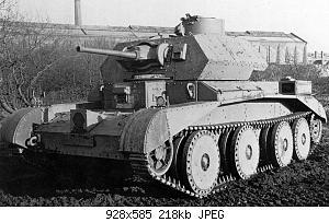 Нажмите на изображение для увеличения Название: Cruiser Tank Mk.IV.jpg Просмотров: 2 Размер:217.6 Кб ID:1181724