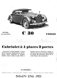 Нажмите на изображение для увеличения Название: Dubos_Avions_Voisin_C30_Cabriolet_1938_07.jpg Просмотров: 0 Размер:66.8 Кб ID:1192902
