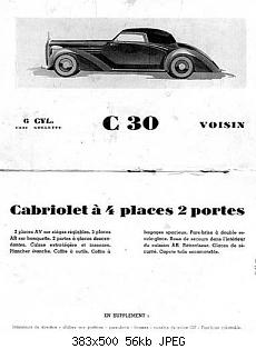 Нажмите на изображение для увеличения Название: Dubos_Avions_Voisin_C30_Cabriolet_1938_08.jpg Просмотров: 0 Размер:56.1 Кб ID:1192903
