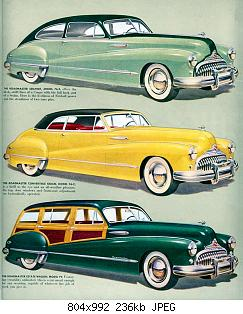 Нажмите на изображение для увеличения Название: 1948 Buick  4 .jpg Просмотров: 4 Размер:236.1 Кб ID:1035284