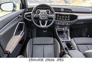 Нажмите на изображение для увеличения Название: interior front Audi Q3 Quattro 2019.jpg Просмотров: 0 Размер:290.6 Кб ID:1180174