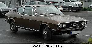 Нажмите на изображение для увеличения Название: 800px-Audi_100_Coupé_S_(C1)_–_Frontansicht,_27._April_2011,_Velbert.jpg Просмотров: 0 Размер:78.2 Кб ID:1197327