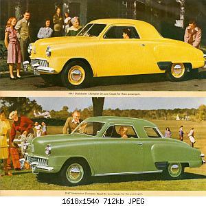 Нажмите на изображение для увеличения Название: 1947 Studebaker  5 .jpg Просмотров: 0 Размер:712.0 Кб ID:1023803