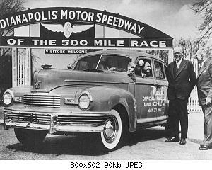 Нажмите на изображение для увеличения Название: 1947 nash ambassador indy 500 pace car sedan.jpg Просмотров: 1 Размер:90.3 Кб ID:1024632