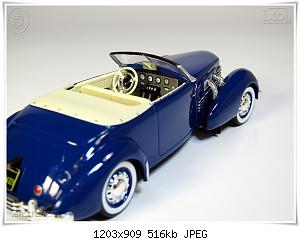 Нажмите на изображение для увеличения Название: Cord 812 Phaeton (4) Ixo.JPG Просмотров: 4 Размер:516.5 Кб ID:1141085