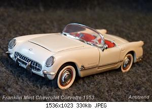 Franklin Mint Chevrolet Corvette 1953 1.jpg