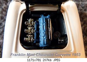 Franklin Mint Chevrolet Corvette 1953 7.jpg