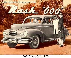 Нажмите на изображение для увеличения Название: 1946 Nash 600-01.jpg Просмотров: 4 Размер:118.5 Кб ID:1009172