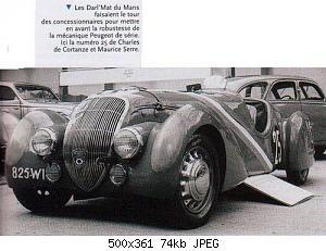 Нажмите на изображение для увеличения Название: Peugeot 302 Darl'Mat-Pourtouts_1937 LeMans2.jpg Просмотров: 2 Размер:74.4 Кб ID:1159880