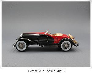 Нажмите на изображение для увеличения Название: Duesenberg SSJ (3) Ixo.JPG Просмотров: 3 Размер:727.7 Кб ID:1180547