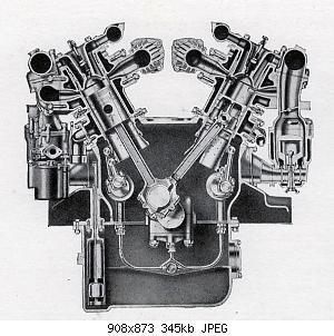 Нажмите на изображение для увеличения Название: Double-Six_50hp_section_view_1927-30.jpg Просмотров: 0 Размер:345.2 Кб ID:1178924