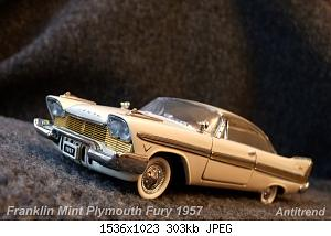Franklin Mint Plymouth Fury 1957 1.jpg
