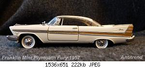 Franklin Mint Plymouth Fury 1957 2.jpg