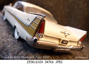 Franklin Mint Plymouth Fury 1957 6.jpg