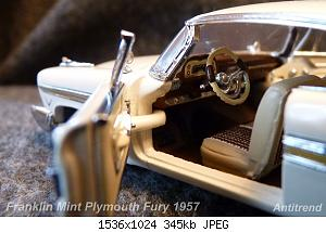 Franklin Mint Plymouth Fury 1957 8.jpg