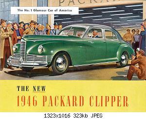 Нажмите на изображение для увеличения Название: 1946 Packard-01.jpg Просмотров: 2 Размер:323.4 Кб ID:1012823