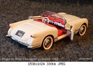 Franklin Mint Chevrolet Corvette 1953 2.jpg