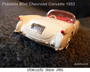 Franklin Mint Chevrolet Corvette 1953 6.jpg