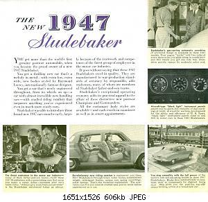 Нажмите на изображение для увеличения Название: 1947 Studebaker  3 .jpg Просмотров: 1 Размер:606.3 Кб ID:1023801